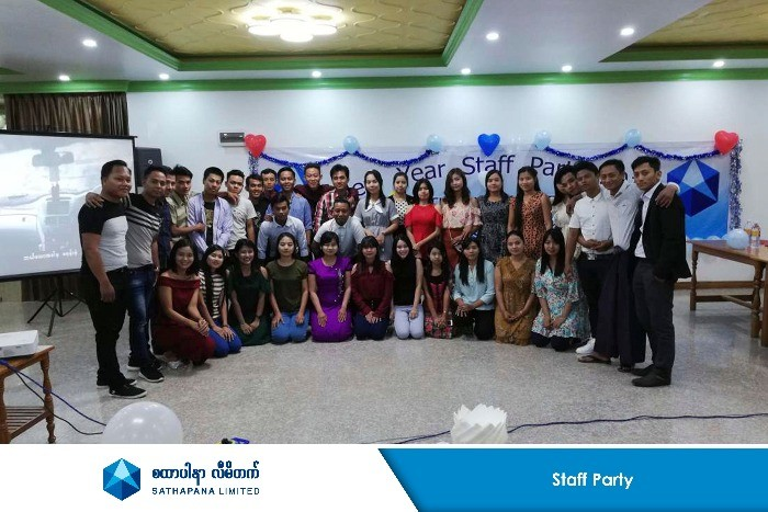 Staff Parties across Myanmar - SATHAPANA Limited